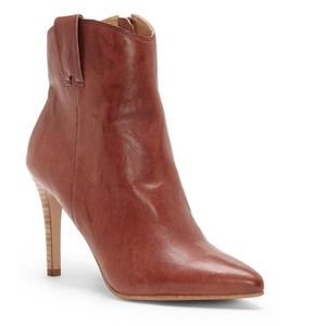 LUCKY BRAND Torience Heel Bootie Boot Leather